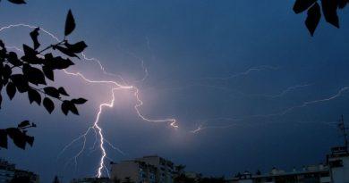 Vorsicht bei Gewittern