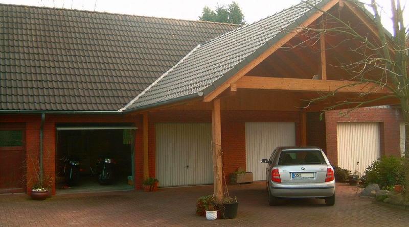 Garage oder Carport?